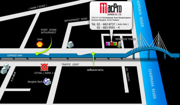 map to MACPRO